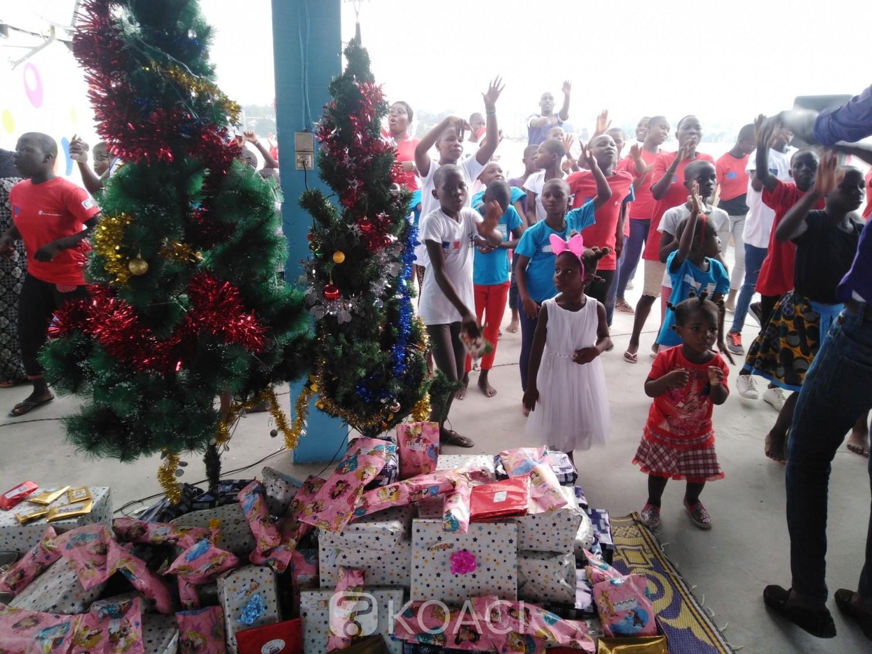Côte d'Ivoire: Pour la 3ème fois, CFAO-RETAIL offre un Noël de beauté aux enfants de l'ong caoequiva