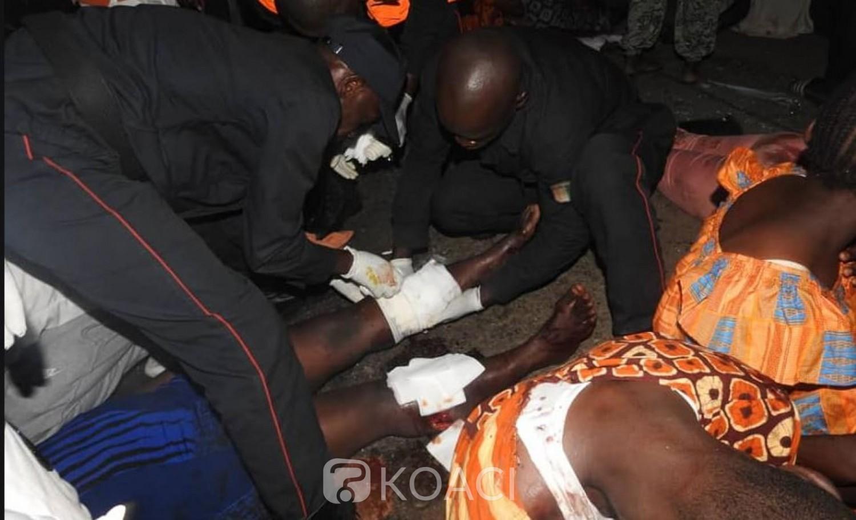 Côte d'Ivoire: Drame à Yopougon, un grave accident entre un «Gbaka » et un véhicule de particulier fait 19 victimes, 2 morts