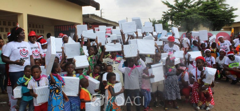 Côte d'Ivoire: 1500 enfants comblés grâce à la Magie de Noel by Bolloré