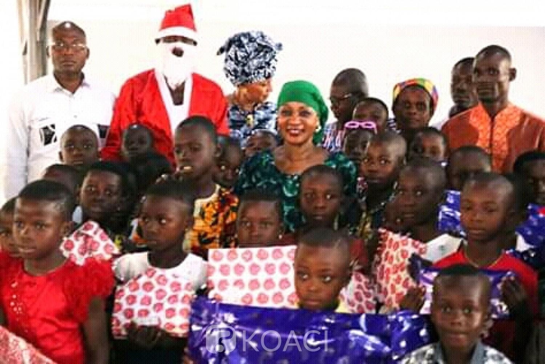 Côte d'Ivoire: Daoukro, pour la fête de Noël, des enfants de deux régions comblés par Henriette Bedié