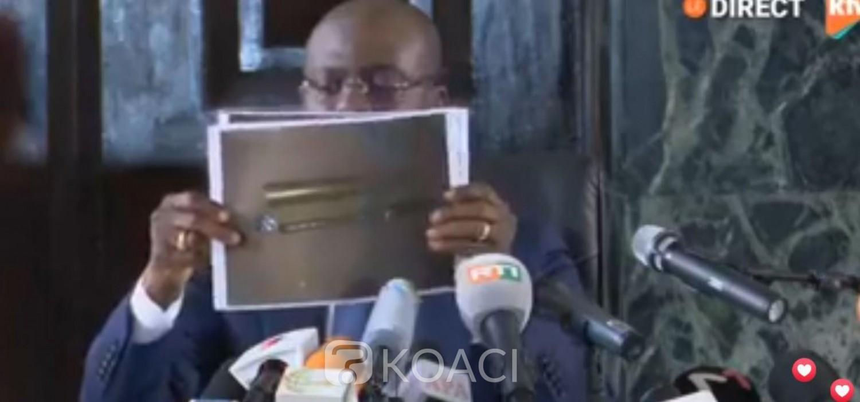 Côte d'Ivoire :  Affaire Soro, le Procureur fait écouter l'enregistrement sonore par presse et annonce la saisie d'armes de guerre aux domiciles de certains soutiens du député de Ferké