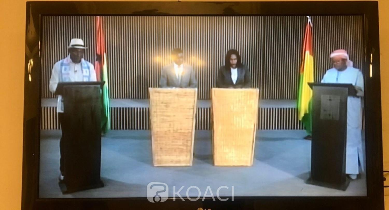 Guinée Bissau: Débat télévisé entre les deux finalistes du second tour de la présidentielle