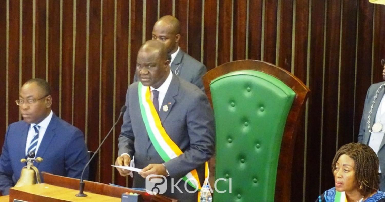 Côte d'Ivoire:  Amadou Soumahoro appelle ses collègues au sens du patriotisme et de responsabilité à quelques mois des élections malgré l'absence de ceux du groupe parlementaire Rassemblement
