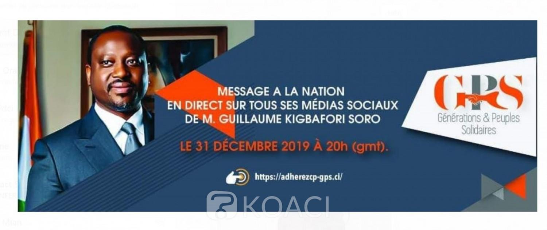 Côte d'Ivoire: Flanqué d'un mandat d'arrêt international, Soro annonce un discours à la nation le 31 décembre