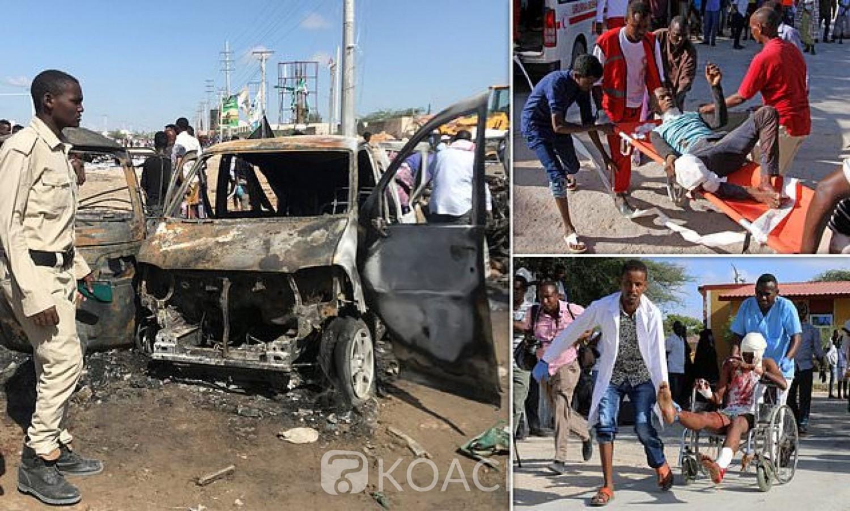 Somalie: Mogadiscio frappé  par un attentat à la voiture piégée ,76 morts et 70 blessés