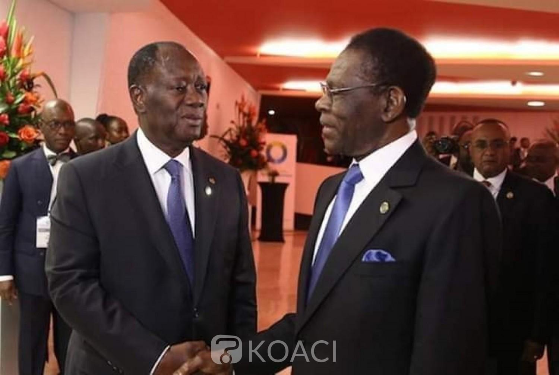 Côte d'Ivoire: Affaire Soro, aux côtés d'Obiang, Ouattara catégorique: «Nul ne sera autorisé à déstabiliser la Côte d'Ivoire, candidat ou pas, nul n'est au-dessus de la loi »