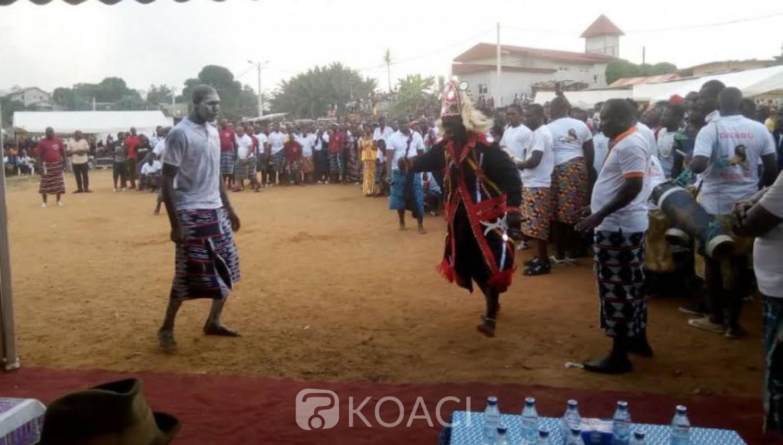 Côte d'Ivoire: Depuis Songon, Nangui Magès, exhorte ses parents  à faire de la promotion de la culture Atchan «Notre culture est notre école de vie»