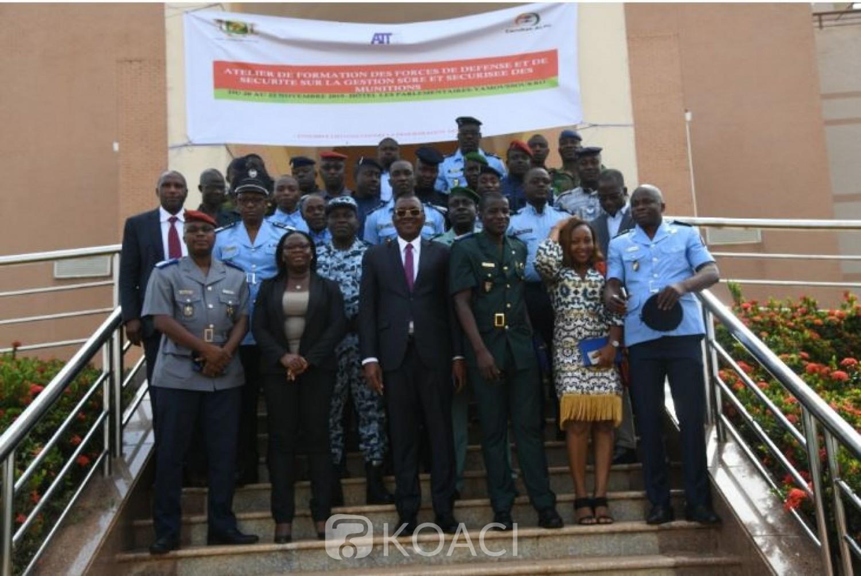 Côte d'Ivoire: Trente éléments des  FACI  formés par la COMNAT-ALPC sur la gestion sure et sécurisée des munitions