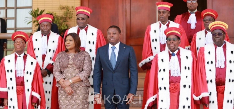 Togo: Cour constitutionnelle, voici le serment des nouveaux membres et le nouveau président