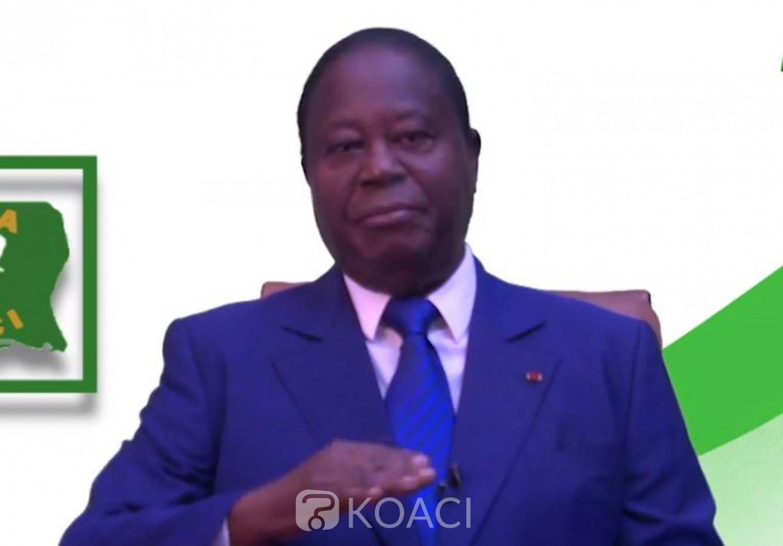Côte d'Ivoire: Bédié appelle à la mobilisation de la CDRP, EDS et les forces vives de la nation pour la victoire en 2020