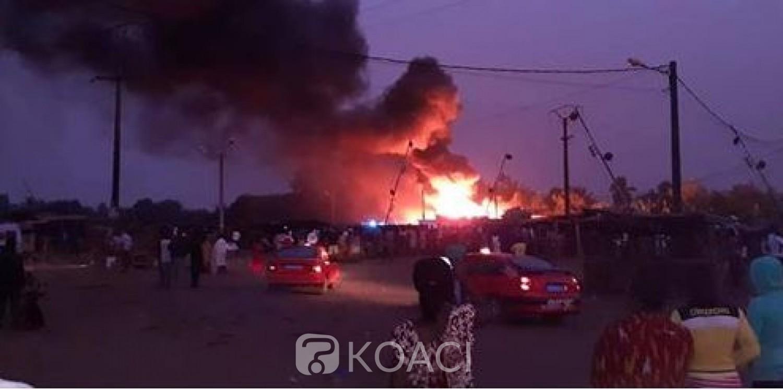 Côte d'Ivoire: Un incendie déclaré dans une usine dans la commune d'Abobo