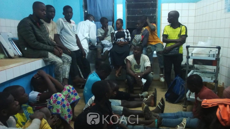 Côte d'Ivoire: A Touba, un chauffeur de « Massa » renverse ses passagers élèves revenant des congés de fin d'années et prend la fuite, des blessés