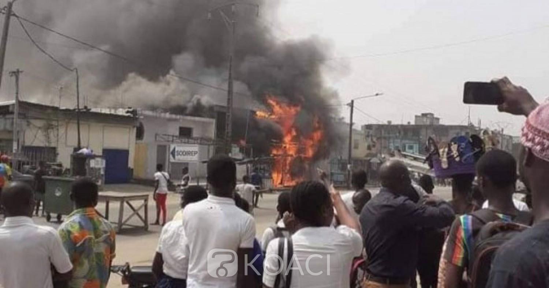 Côte d'Ivoire: À Yopougon, un célèbre maquis part en feu