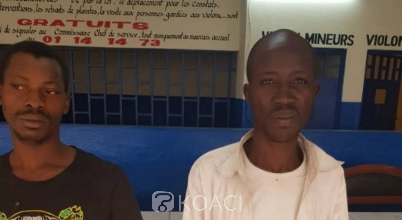 Côte d'Ivoire: 02 plombiers voleurs interpellés par la police