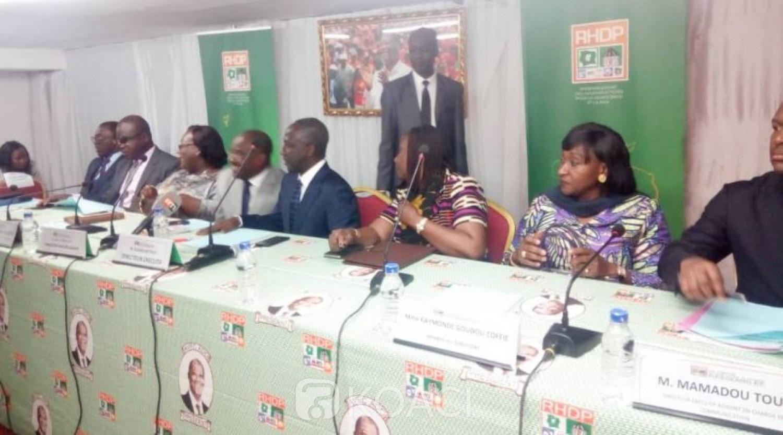 Côte d'Ivoire: Abidjan, le RHDP adapte feuille de route à l'environnement politique du moment, invite l'opposition à se ressaisir en prenant part aux rencontres annoncées par Ouattara