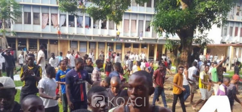 RDC: Un officier de police lynché à mort lors des manifestations à l'université de Kinshasa