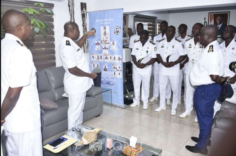 Côte d'Ivoire: Le Chef d'Etat-major de la Marine aux officiers promus : « Gardez-vous  de poser des actes contraires à la morale et à la discipline »