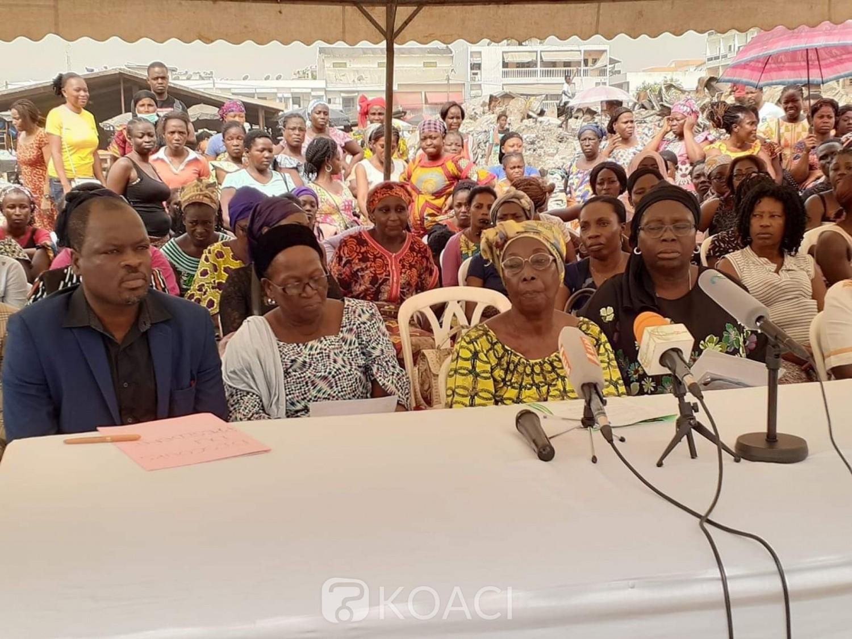 Côte d'Ivoire: A la  Rivera -Palmeraie,  les responsables du marché  ravagé  attendent   les résultats  des enquêtes