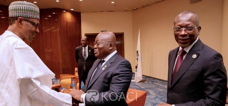 Ghana-Nigeria: Akufo-Addo appelle à résoudre les différends commerciaux