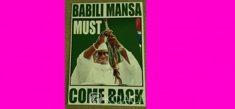 Gambie: Projet et opposition pour le retour de Jammeh