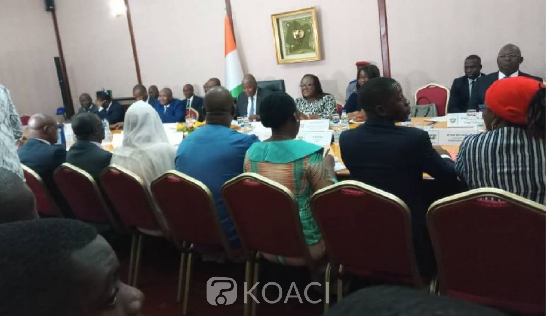 Côte d'Ivoire: Dialogue politique, Amadou Gon à la Société civile: «Nous avons l'excellence occasion de monter à la face du monde notre capacité à nous asseoir sur une même table pour nous parler»