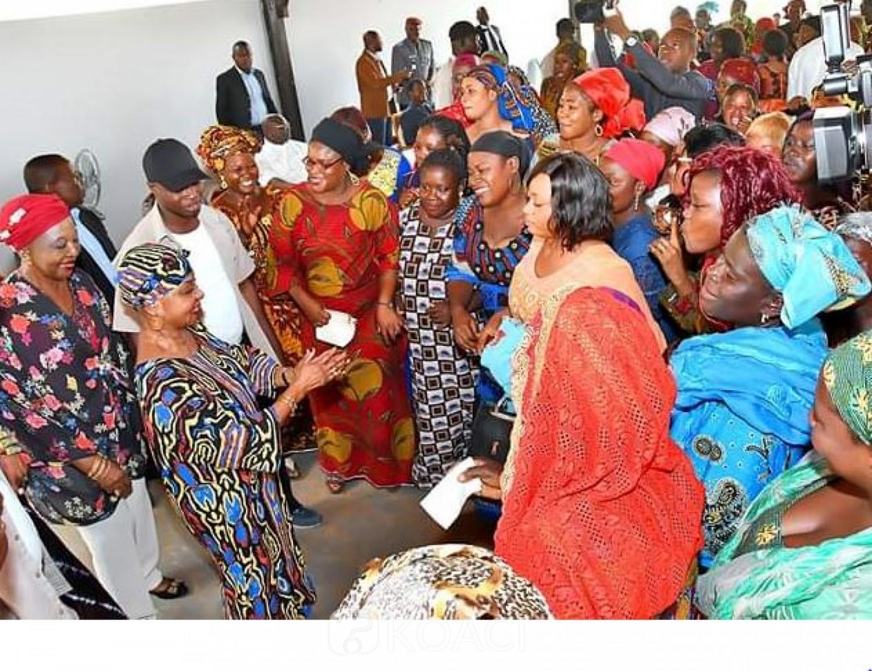 Côte d'Ivoire: Mme Bédié « fustige » l'opinion qui présente son époux comme un « xénophobe » devant des musulmanes venue la solliciter  pour leur  autonomisation