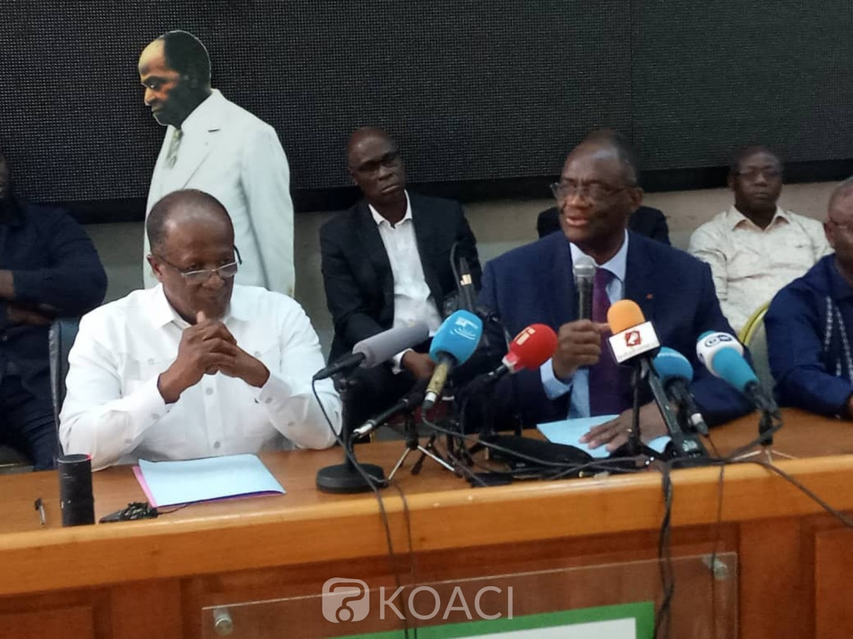 Côte d'Ivoire:  À peine le Dialogue politique ouvert, EDS et le PDCI ont annoncé au cours d'une rencontre conjointe qu'ils récusent la CEI et appelle à un dialogue national inclusif