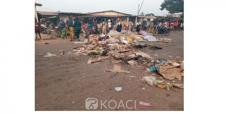 Côte d'Ivoire: A Guiglo, remontées contre la mairie, des femmes déversent les ordures sur la voie principale