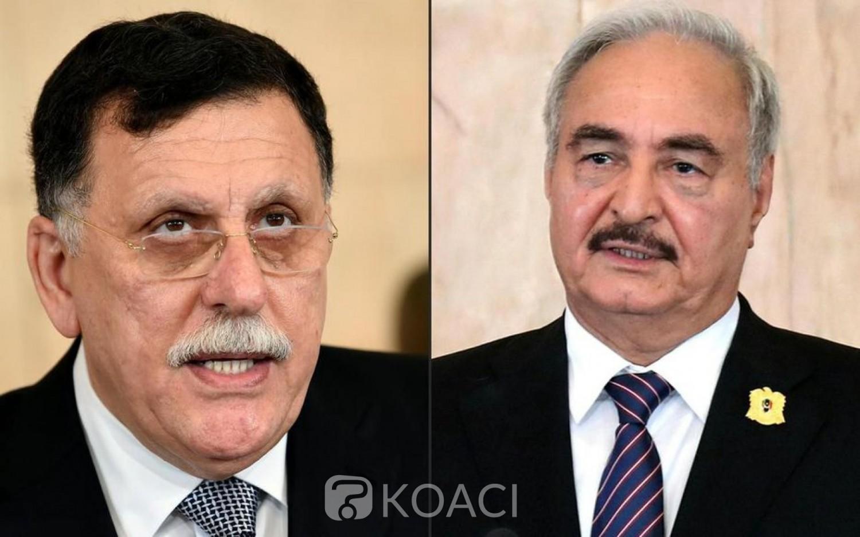 Libye: Rencontre à Moscou entre  Haftar et al-Sarraj pour signer les modalités du cessez-le-feu
