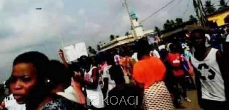 Côte d'Ivoire: Sommées de quitter les alentours de l'aéroport suite au décès d'un élève les populations d'Adjouffou protestent
