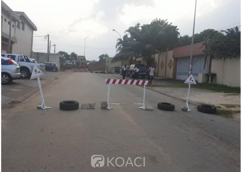 Côte d'Ivoire: Cocody, travaux sur la voie allant de la Cité Allabra pour la pharmacie Ste Agathe, voici les itinéraires conseillés