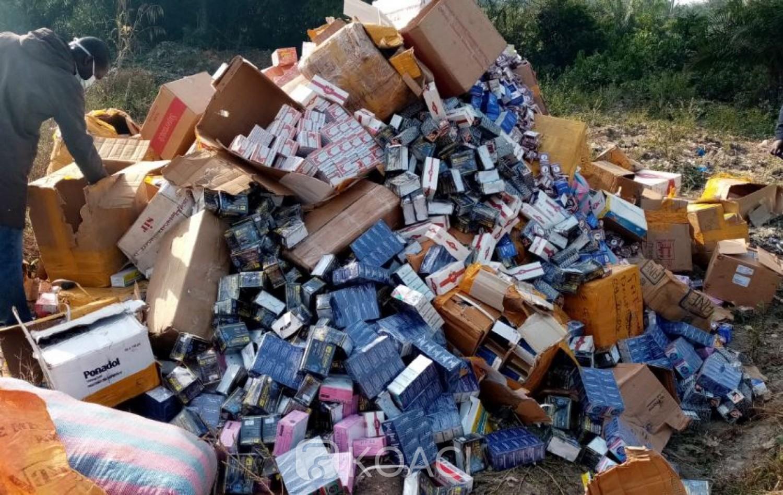 Côte d'Ivoire: À Man, 4,2 tonnes de produits prohibés d'une valeur de plus de 450 millions  détruits