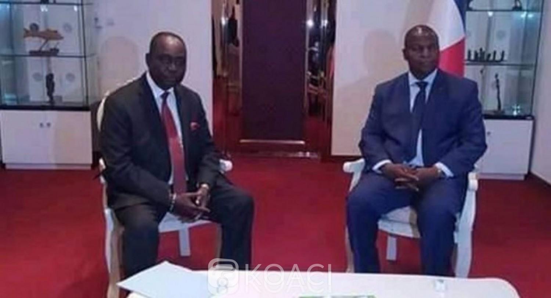 Centrafrique:   Tête à tête à Bangui entre l'ancien président Bozizé et Faustin Touadéra
