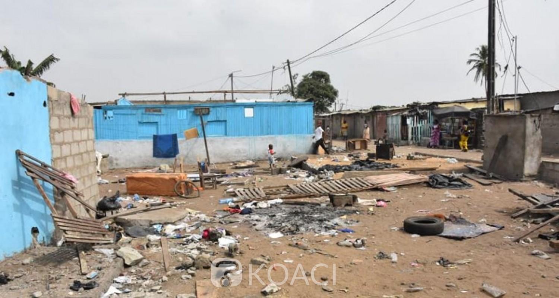 Côte d'Ivoire: Adjouffou, avant le déguerpissement, les populations libèrent le site