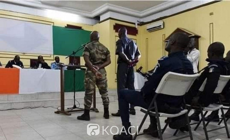 Côte d'Ivoire : Escroquerie, l'indemnité (15 millions)  de la retraite anticipée d'un militaire indélicat remise à ses victimes