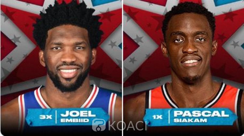 Cameroun: 3 africains titulaires dans le NBA-ALL-STAR GAME 2020 dont 2 camerounais, une première pour un pays africain
