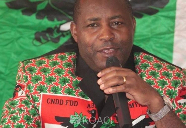 Burundi : Le CNDD-FDD ,au pouvoir porte son choix sur le général Evariste Ndayishimiye  pour la présidentielle de 2020