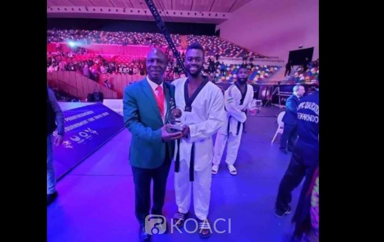 Côte d'Ivoire : Taekwondo, à Rabat, l'Ivoirien Gbané Seydou décroche sa qualification pour les JO de Tokyo