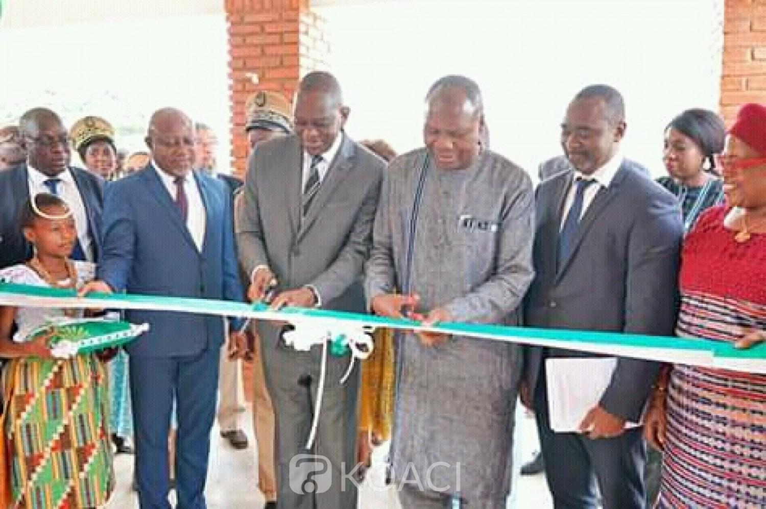 Côte d'Ivoire : Bouaké, à l'inauguration d'un centre de Biodiversité, Gaoussou Touré lance,