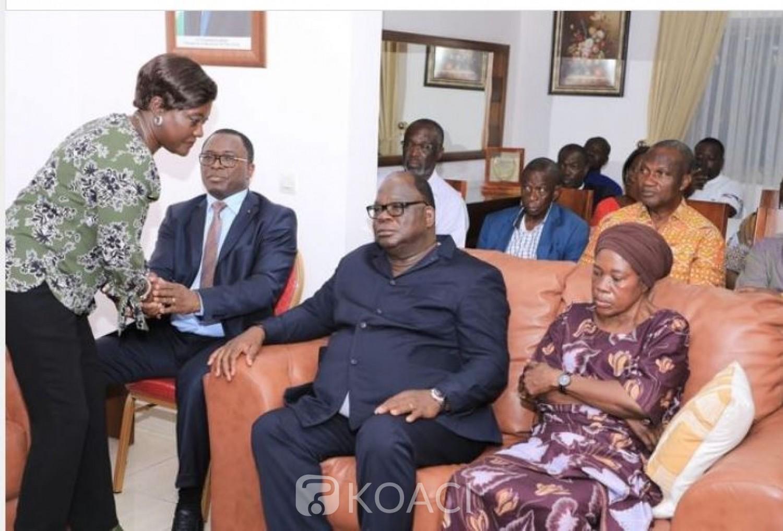 Côte d'Ivoire : Le ministre perd deux enfants en une semaine, Mariatou Koné au chevet de Laurent Tchagba