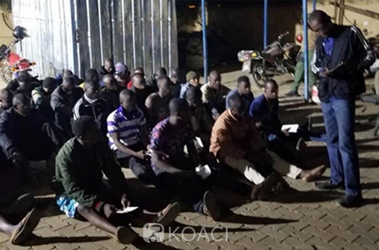 Niger : 232 victimes de la traite des êtres humains recrutées du Ghana sauvées par la police
