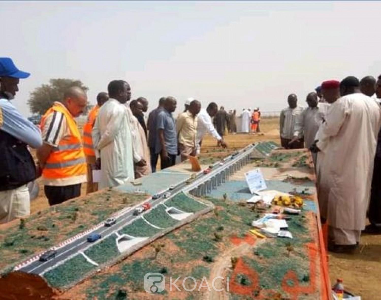 Cameroun : Pose de la première pierre du second pont sur le Logone pour relier le Tchad au Cameroun