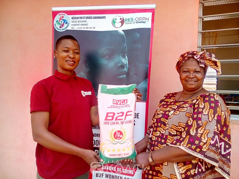 Côte d'Ivoire : Bouaké, manque de nourriture pour la réinsertion des femmes, le don de riz salué par la responsable de Saint-Camille