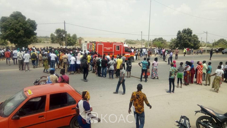Côte d'Ivoire : Drame, à Bouaké, un chauffard provoque la mort de deux écoliers, un 3è dans un état critique