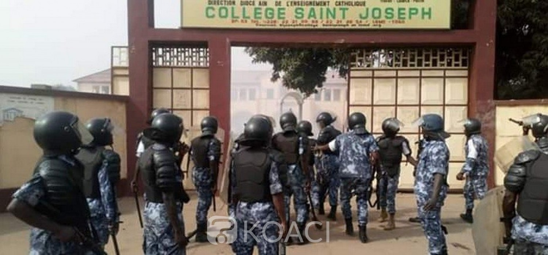 Togo : Mgr Kpodzro contraint de rentrer, manifestation à rudes épreuves à Lomé