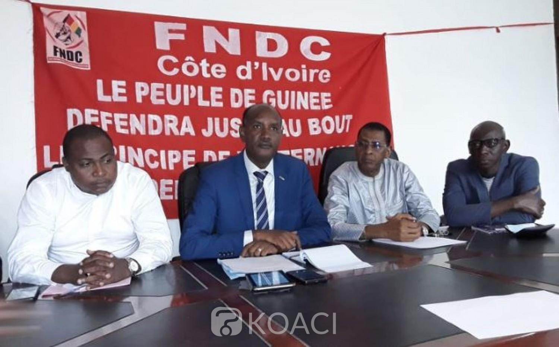 Côte d'Ivoire-Guinée : Scrutin du 1er mars, la Communauté guinéenne redoute des affrontements et des troubles si le processus n'est pas suspendu