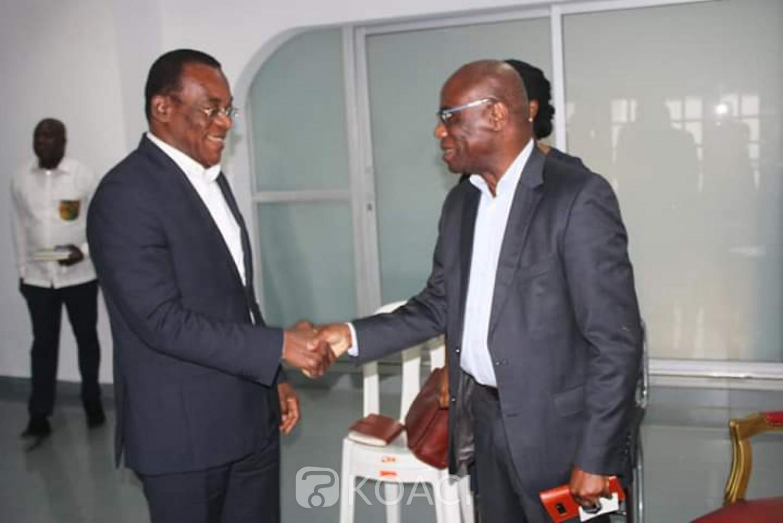 Côte d'Ivoire : Présidentielle 2020, Affi échange avec un émissaire de la fondation Kofi Annan