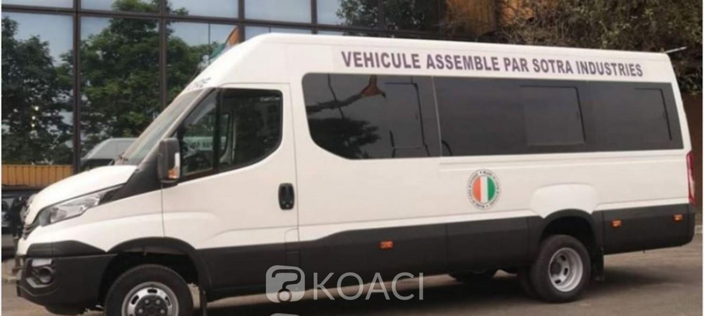 Côte d'Ivoire : Sotra, les tickets de bus effectivement supprimés, la société  reçoit ses premiers kits d'assemblage des minibus