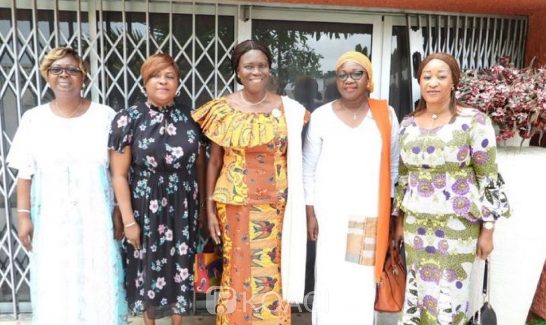 Côte d'Ivoire: Journée internationale de la femme, voilà ce que Simone  confie à la délégation de la ministre Ly Ramata