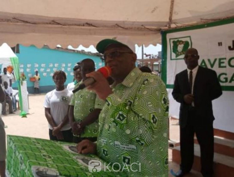 Côte d'Ivoire : Ezaley depuis Bonoua : «  Ils ont dit  ils vont terminer le PDCI,  en octobre, c'est nous qui allons finir avec eux »